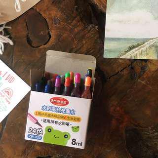 24 Watercolor Inks fir Calligraphy