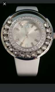Love her with awesome watch