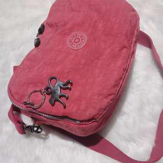 Original preloved kipling 2 way bag