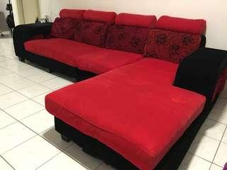 L Shape Sofa (4 seated)