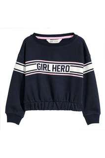 Printed Sweatshirt (Girl Hero)
