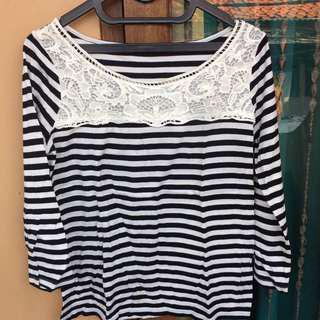 Tshirt black&white