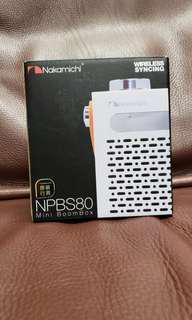 Nakamichi Mini BoomBox (NPBS80)