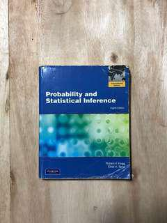 Probability and Statistical Inference (8th Edition) - Robert V. Hogg
