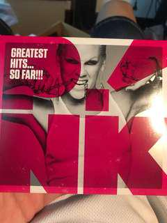 Pink greatest hit so far