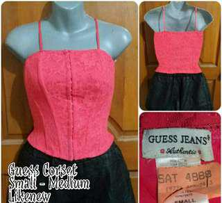 GUESS LACEY CORSET