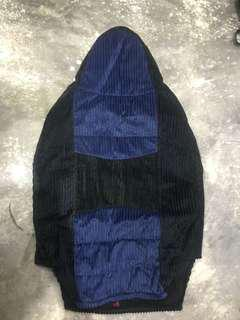 Toyota Wigo Seat Cover (black and blue)