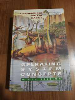 Operating System Concepts 6th edition