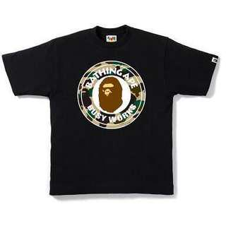 A Bathing Ape tees