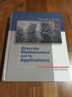 Discrete Mathematics and Its Applications 5th edition