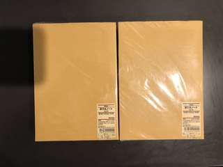 MUJI NOTEBOOKS FOR SALE