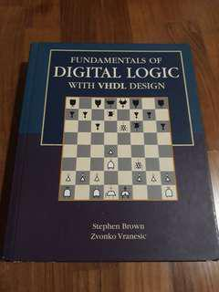 Fundamental of Digital Logic with VHDL Design