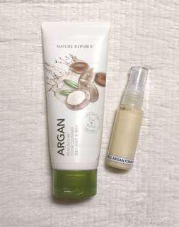Nature Republic Argan Foam Cleanser