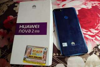 Huawei nove 2 lite 3months old