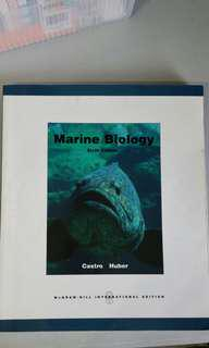 🚚 Marine Biology Sixth Edition Textbook