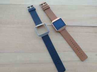🚚 Leather Strap for Fitbit Blaze