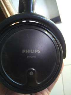 Headset philip shp 2000