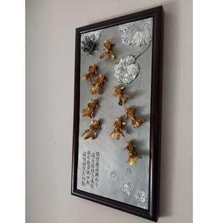Royal Selangor Oriental Goldfish Plaque