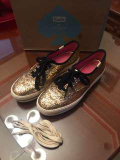Keds for Kate Spade Triple Glitter Gold