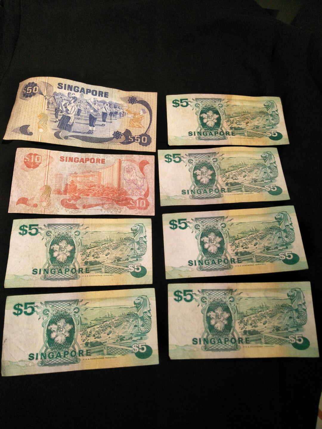 17 of sg old notes face value $103 now offer $108