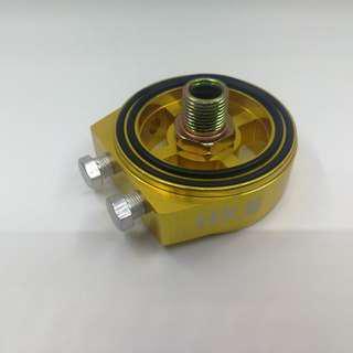 HKS universal aluminum oil adapter