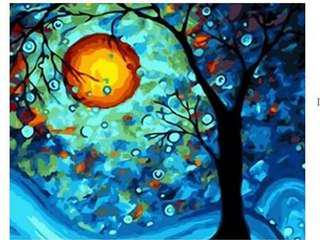 PAINT BY NUMBERS : TREE OF DREAM