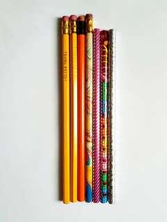 🆕️7pk Grey Lead Pencils