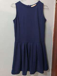 Dress biru // Dress Hangout
