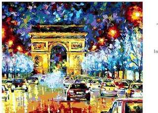 PAINT BY NUMBERS : TRIUMPHAL ARC