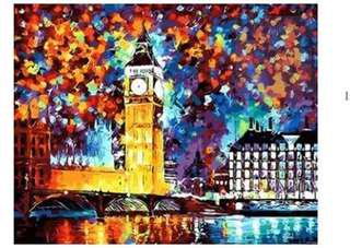 PAINT BY NUMBERS : BIG BEN