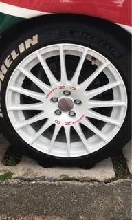 Original OZ Superturismo GT with Michelin Pilotsport 4