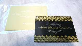 Straits Settlement Gold Foil