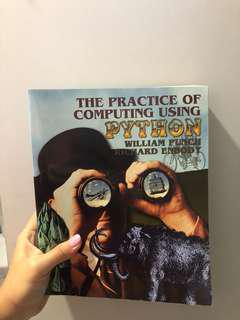 🚚 The practice of computing using python by William punch and Richard enbody