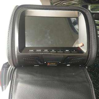 2 X Headrest DVD Screen For Sale