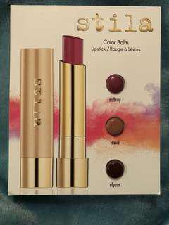 Stila Lipstick samples