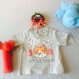 (Reprice) Chicco baby tiger abu abu