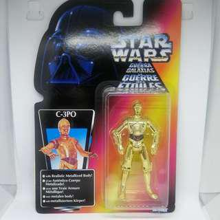 Kenner Hasbro Star Wars C-3PO (C3PO) toy figure