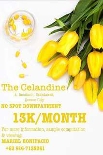 PRE-SELLING CONDO IN BALINTAWAK - The Celandine by DMCI Homes