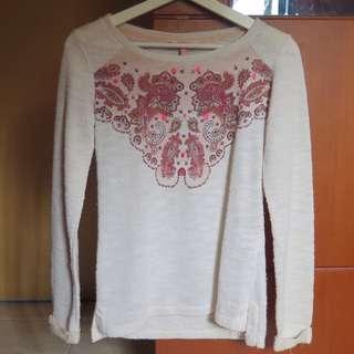 Bershka Knit Sweater Top