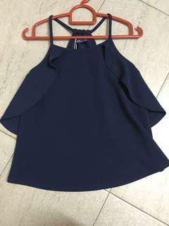 Kitschen navy top