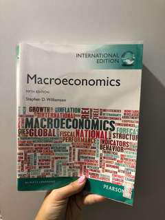🚚 Macroeconomics by Stephen D. Williamson (5th edition)