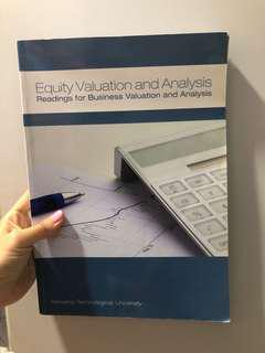 🚚 NTU Equity valuation and Analysis. Readings for business valuation and analysis