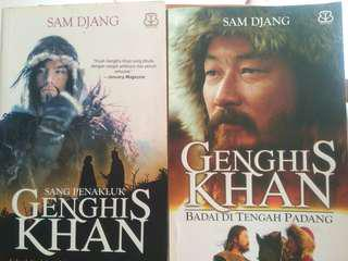novel genghis khan