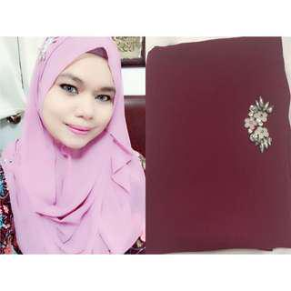 Instant Tudung/Hijab /Shawl Juliet