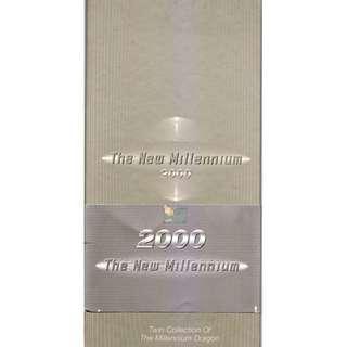 Protrait Series Millennium $2  Identical Number Commemorative set