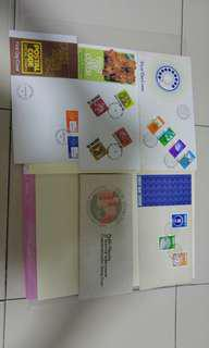 Singapore 1st day cover set 2