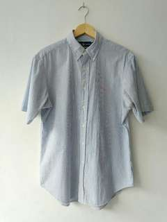 Short sleeve Polo Ralph Lauren gingham shirt