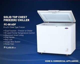 Chest Type Freezer