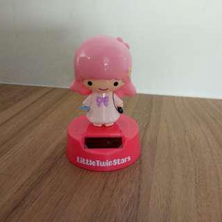 🚚 Little twin stars kiki lala solar power toy