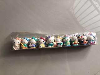10 Hello Kitty Small Figurines #list4sb